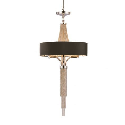 Black Chandelier Shade by The Libra Company Langan 036165 With Black Shade