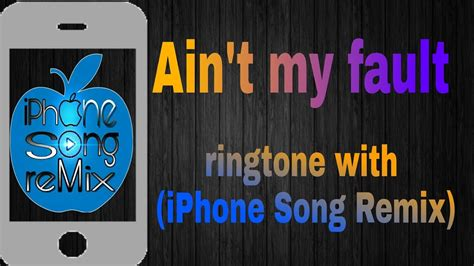 Zara Larsson_-ain't My Fault_-ringtone With_-(iphone Song