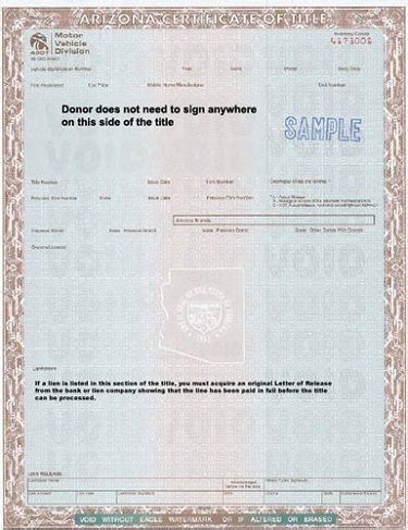 Boat Registration Numbers Requirements Wisconsin by Process In Arizona To Get A Bonded Title Favcars Net
