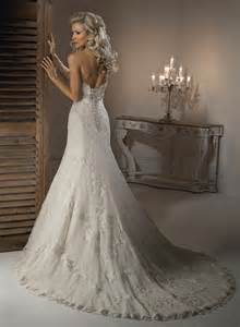 a line wedding dresses strapless a line beaded bridal gown pictures photos and images for