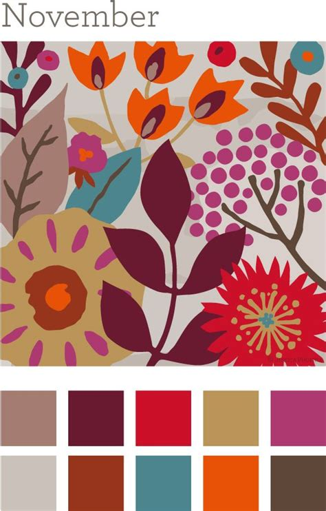 november colors best 25 fall color palette ideas on fall