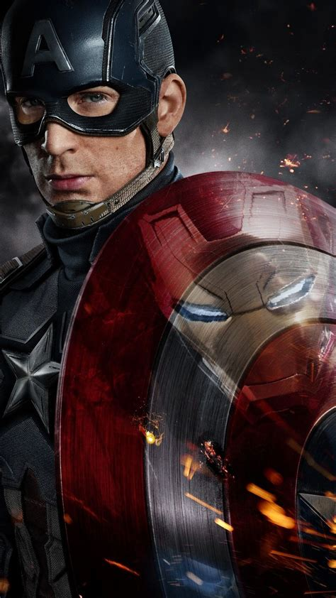 captain america  iron man fight iphone wallpaper