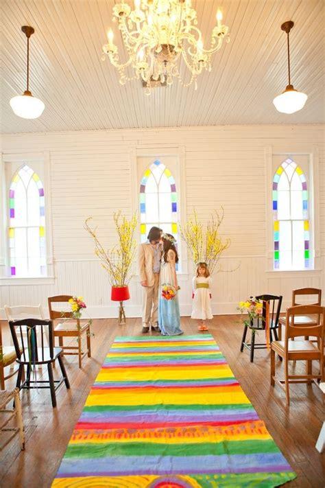 rainbow aisle runner rainbow wedding rainbow wedding theme aisle runner wedding