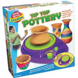 Target Bath Set Baby by Tip Top Pottery Wheel Craft Kit Educational Toys Planet