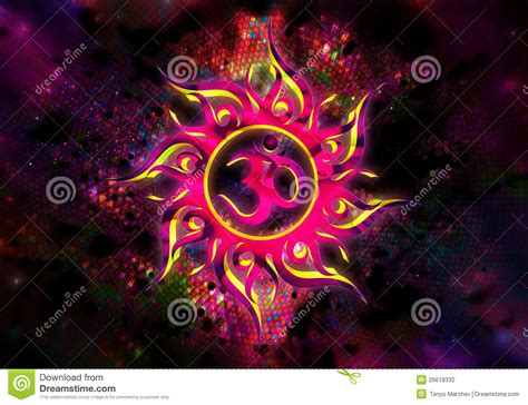goa trance abstraction stock photography image