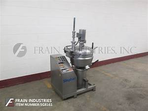 Stephan Machinery Corp Cutter  Slicer Chopper  Processor