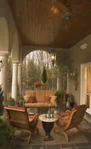 Porch Ceiling with Wood