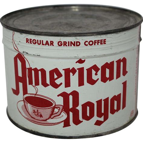 "Stascom.com offers wholesale and retail products, more than 0 offers. Vintage Unopened ""American Royal"" 1 lb. Coffee Can from thecuriousamerican on Ruby Lane"