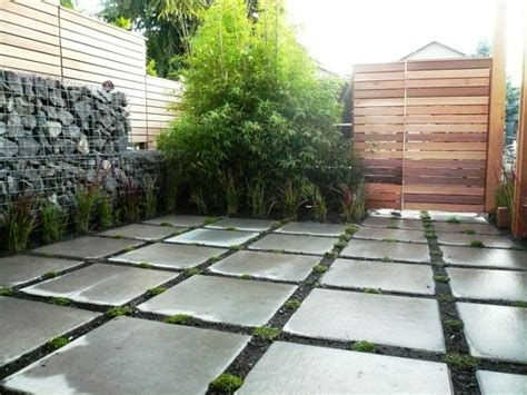 poured concrete patio pavers images