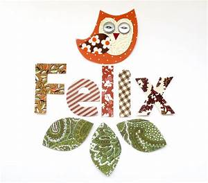 5 letter name restickable fabric wall stickers With fabric letter stickers