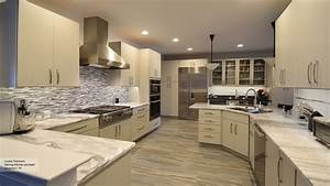 modern kitchen light grey cabinets 2273