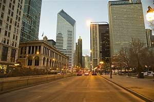 Picture Chicago city USA Illinois Roads Street Skyscrapers ...