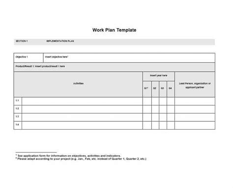 proposal plan templates template samples