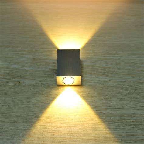 decorative lights for home tanbaby 2w led wall l square led spot light aluminm