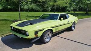 72 Mach 1 - believed to be 39,000 original miles - 351C-4V - Automatic - NICE!!! for sale - Ford ...
