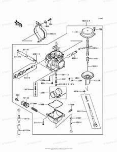 Kawasaki Atv 1998 Oem Parts Diagram For Carburetor