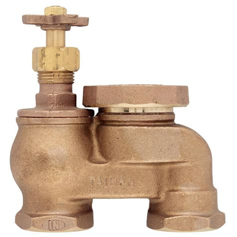 1 In Brass Antisiphon Control Valve51017  The Home Depot