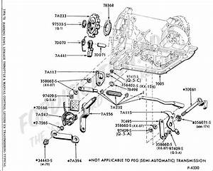 Ford C4 Transmission Shift Linkage Diagram