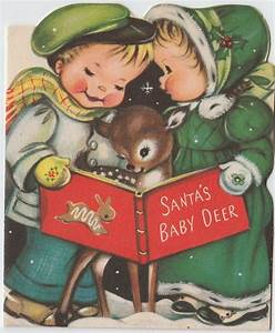 1000+ images about Vintage Christmas greeting cards ONE on ...