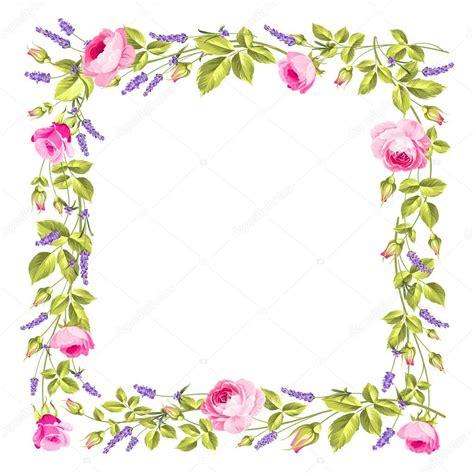 Vector: marco de flores marco flores vintage Vector de