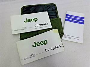 2008 Jeep Compass Owners Manual User Guide Set W   Case Oem