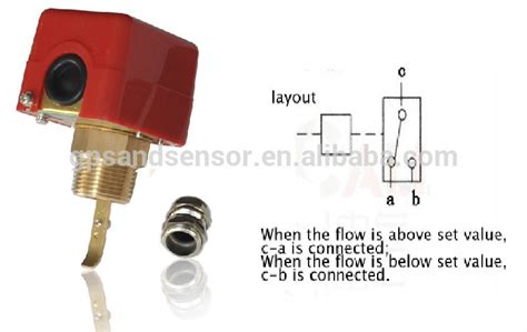 Magnetic Flow Switch For Water