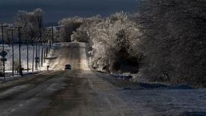 Roads traffic vehicles cars nature landscapes winter snow trees sky wallpaper 1920x1080