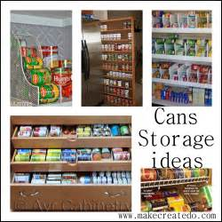 kitchen food storage ideas food cans storage ideas in the pantry make create do pantry and laundry room makeover