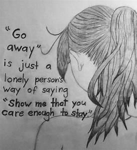 Tumblr Depression Drawing Quotes Depressing Tumblr | Art ...