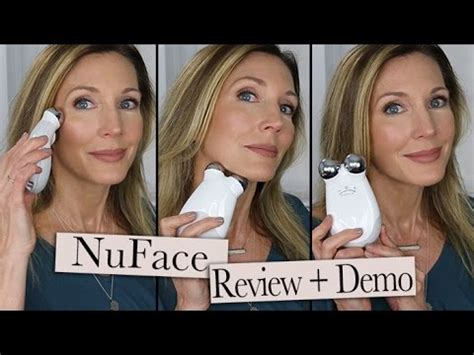 NuFace Review #DefineYourBeauty Kit - YouTube