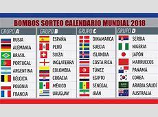 FIFA CADA GRUPO DEL MUNDIAL DEBERÁ TENER AL MENOS UN