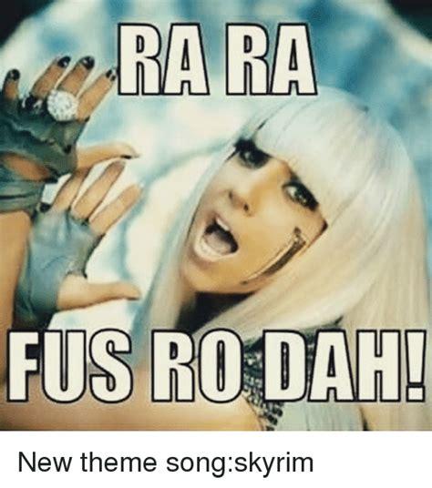 Meme Theme - 25 best memes about song skyrim song skyrim memes