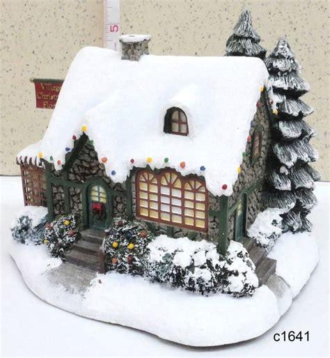 homeade lifesize thinas kinkade christmas tree best 20 villages ideas on display displays