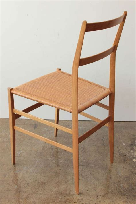 gio ponti quot superleggera quot chairs set of 4 at 1stdibs