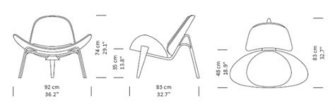 Shell CHAIR   Premium Leather