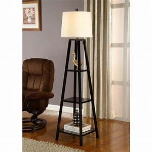 Floor lamp with shelves black floor lamp and floor lamps for Amazon floor lamp shelf