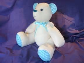 Free Memory Teddy Bear Sewing Pattern
