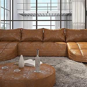 Couch U Form Xxl : wohnlandschaft design leder ~ Bigdaddyawards.com Haus und Dekorationen