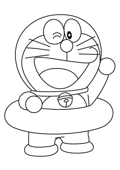 colorare i disegni 28 disegni di doraemon da colorare pianetabambini it