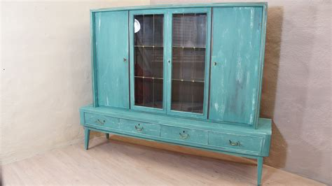Shabby Chic Türkis by Buffetschrank T 252 Rkis Upcycling 70er Shabby Landhaus