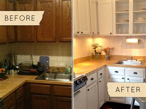 before after a drab kitchen gets a one day makeover