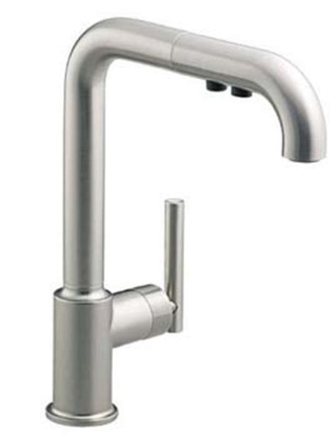 kohler k 7505 vs purist single hole kitchen sink faucet