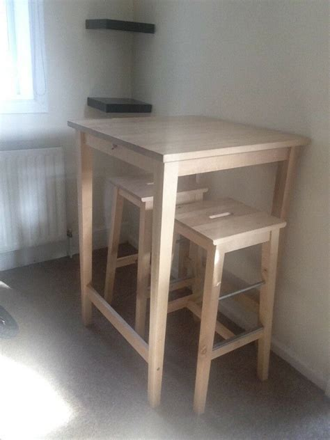 ikea bjorkudden breakfast bar table   ikea bosse