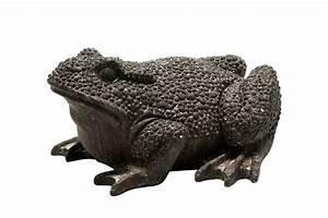 Frosch Deko Garten : garten figur frosch 50 x 45 cm braun in steinoptik deko ~ Articles-book.com Haus und Dekorationen