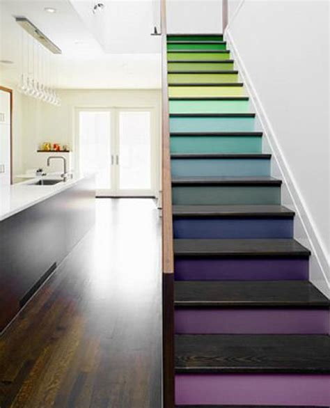 Treppenaufgang Streichen Ideen by Painted Stair Ideas