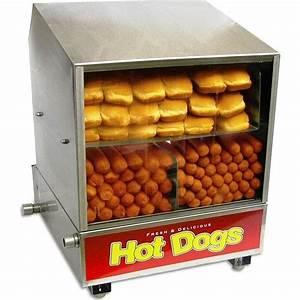 Hot Dog Machen : hot dog steamer bun warmer benchmark dog pound hotdog sauage cooker machine ebay ~ Markanthonyermac.com Haus und Dekorationen