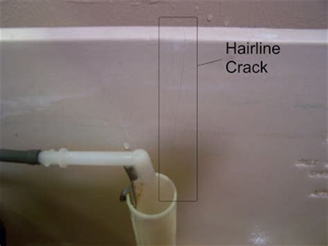Hairline Cracks In Bathroom Ceiling by Enoa S Cracked Toilet And Ceiling