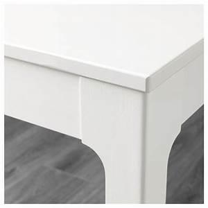 Table Blanc Laqué Extensible Ikea : ekedalen table extensible blanc 80 120x70 cm ikea ~ Nature-et-papiers.com Idées de Décoration