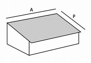 Calcul Surface Toiture 2 Pans : calcul pente de toit calculer la pente d 39 un toit ~ Premium-room.com Idées de Décoration