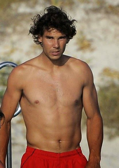 Male Model Street Rafael Nadal Parera A Spanish